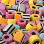 Allsorts sweets full frame