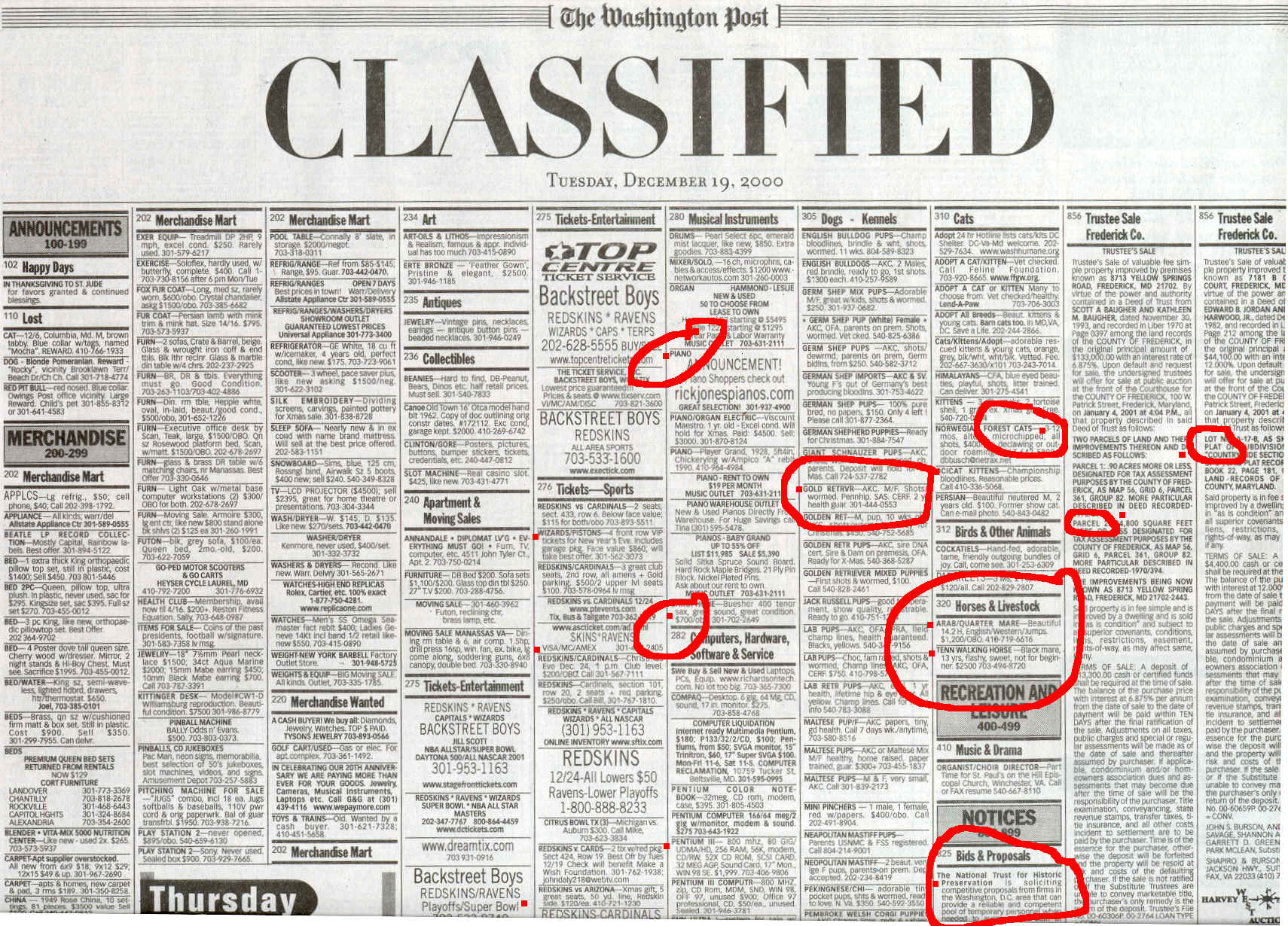 Classified Ads