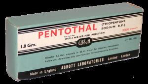 truth serum sodium pentathol