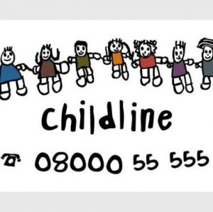 CHILDLINE PHONE TOLL FREE 08000 55 555 EVERY DAY ALL DAY