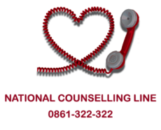 NATIONAL COUNSELLING LINE 0861 322 322 AVAILABLE EVERY DAY ALL DAY